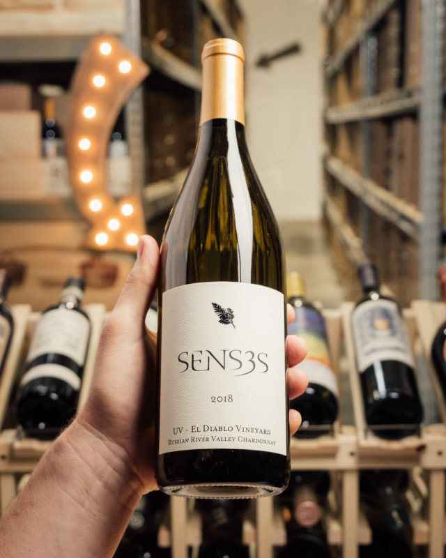 Senses Chardonnay El Diablo U.V. Vineyard 2018  - First Bottle