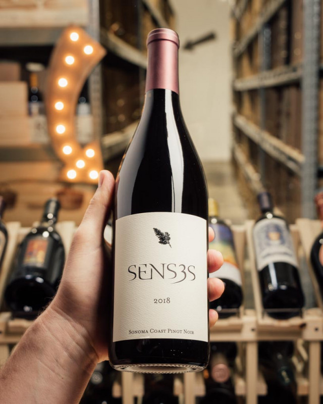 Senses Pinot Noir Sonoma Coast 2018  - First Bottle