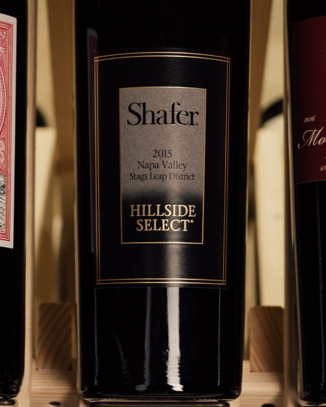 Shafer Cabernet Sauvignon Hillside Select 2015