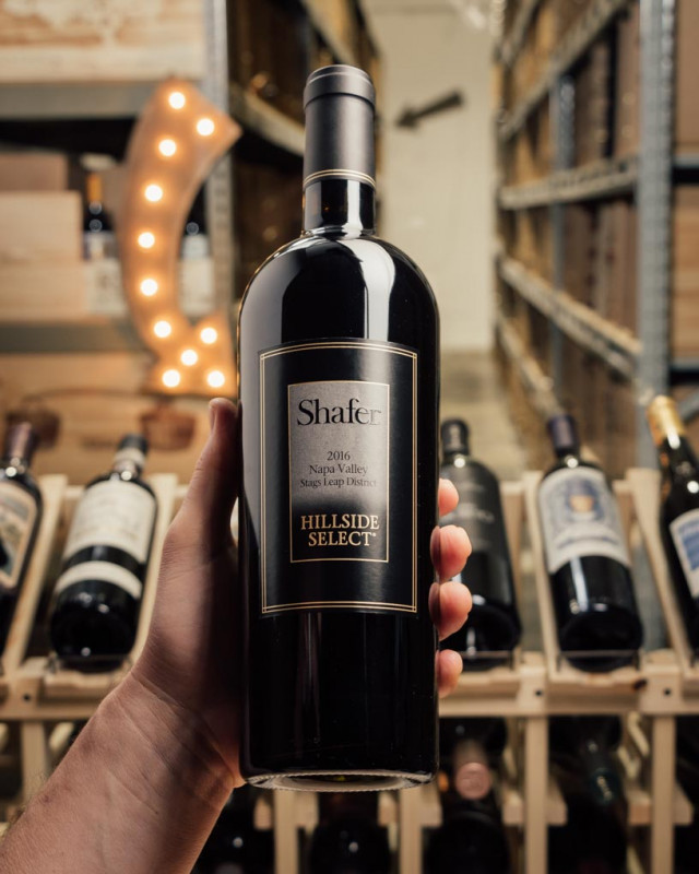 Shafer Cabernet Sauvignon Hillside Select 2016  - First Bottle