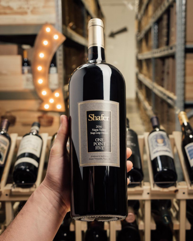 Shafer Cabernet Sauvignon One Point Five 2016 (Magnum 1.5L)  - First Bottle