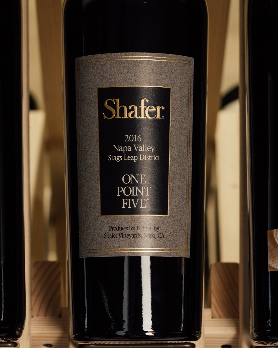 Shafer Cabernet Sauvignon One-Point-Five 2016  - First Bottle