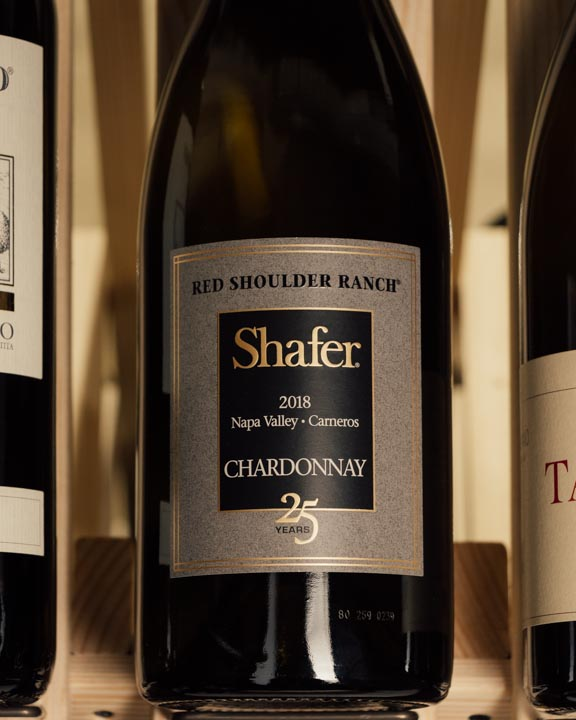 Shafer Chardonnay Red Shoulder Ranch 25th Anniversary 2018