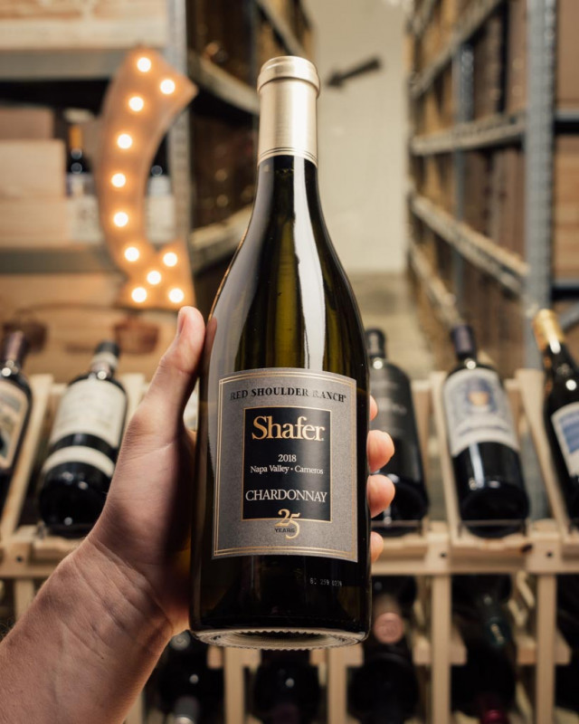 Shafer Chardonnay Red Shoulder Ranch 25th Anniversary 2018  - First Bottle