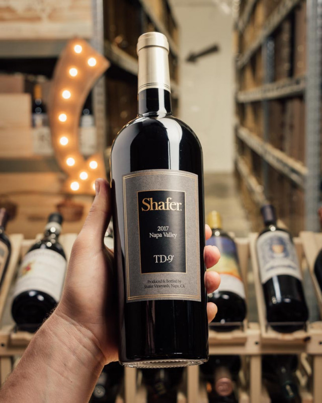 Shafer Proprietary Red TD-9 Napa Valley 2017  - First Bottle