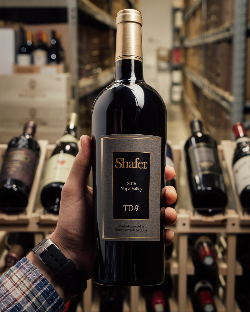 Shafer Proprietary Red TD-9 2016  - First Bottle