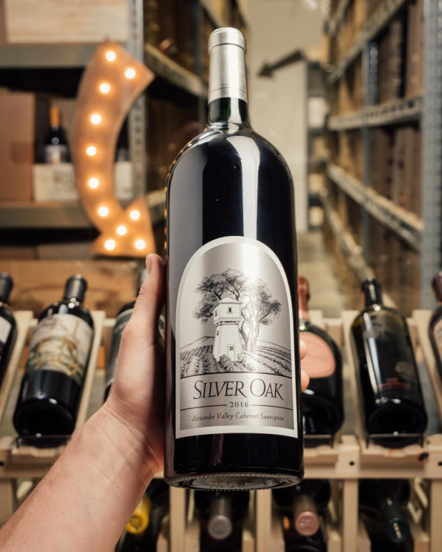 Silver Oak Alexander Valley 2016 (Magnum 1.5L)  - First Bottle