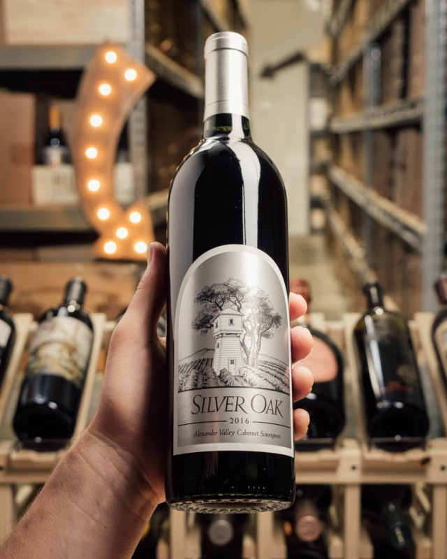 Silver Oak Alexander Valley 2016  - First Bottle