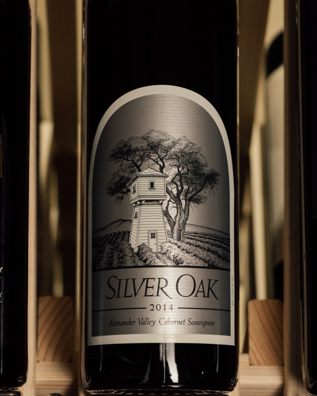 Silver Oak Cabernet Sauvignon Alexander Valley 2014  - First Bottle