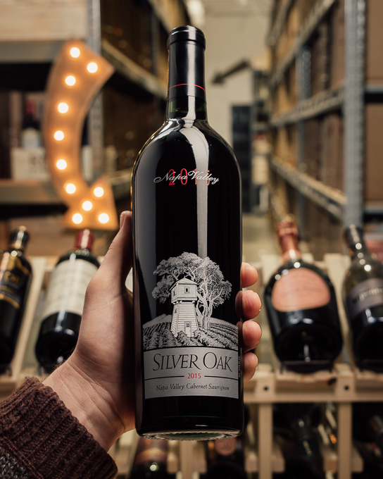 Silver Oak Cabernet Sauvignon Napa 2015  - First Bottle