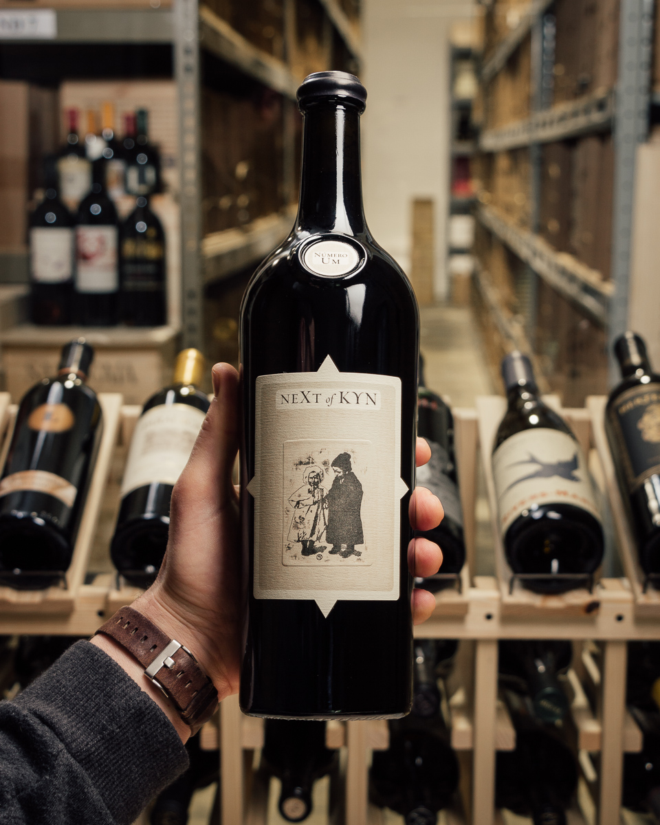 Sine Qua Non Next of Kyn Cumulus Vineyard #9 2015  - First Bottle