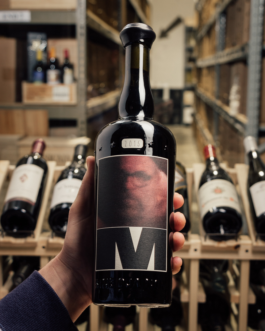 Sine Qua Non Syrah Eleven Confessions Vineyard M  - First Bottle