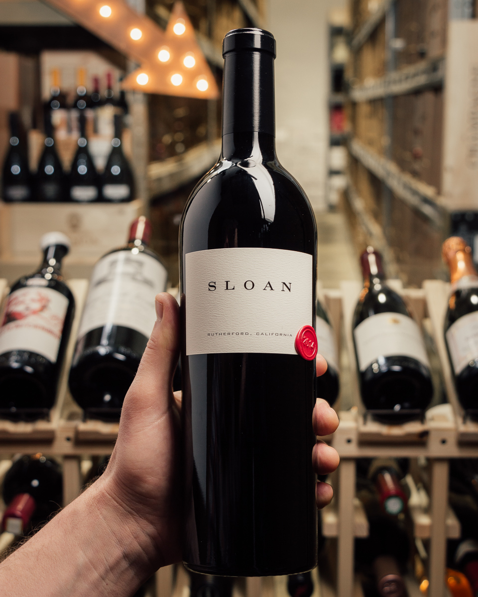 Sloan Estate 2014 (owc)  - First Bottle