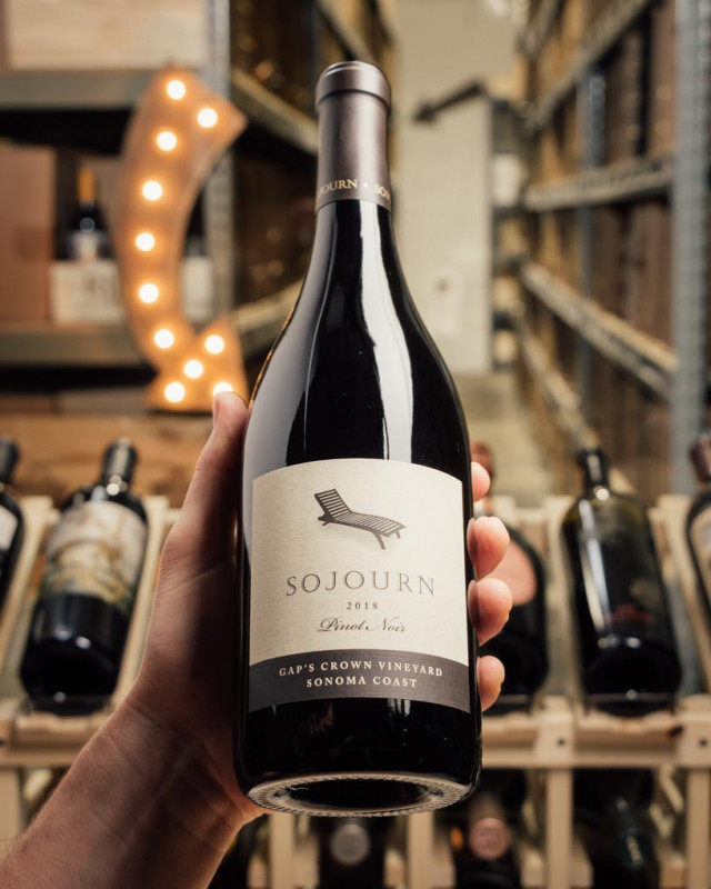 Sojourn Pinot Noir Gap`s Crown 2018  - First Bottle