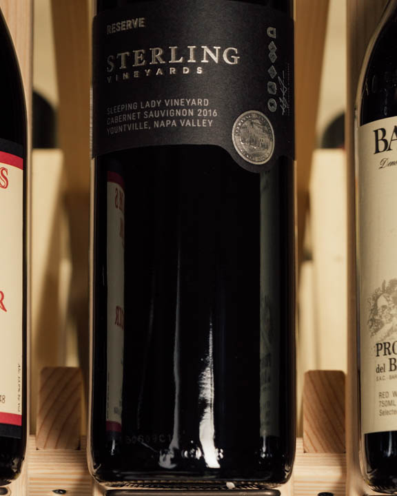Sterling Vineyards Cabernet Sauvignon Sleeping Lady Vineyard Yountville 2016