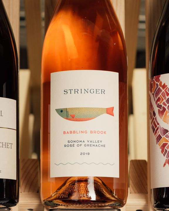 Stringer Cellars Rose of Grenache Babbling Brook Dry Sonoma Valley 2019