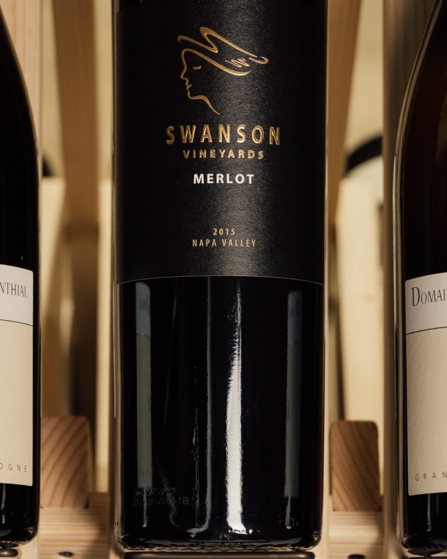 Swanson Vineyards Merlot Napa Valley 2015