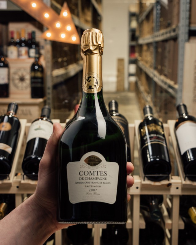 Taittinger Comtes de Champagne Blanc de Blancs Grand Cru 2007  - First Bottle
