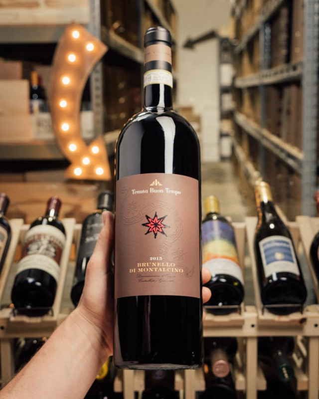 Tenuta Buon Tempo Brunello di Montalcino 2015 (Magnum 1.5L)  - First Bottle