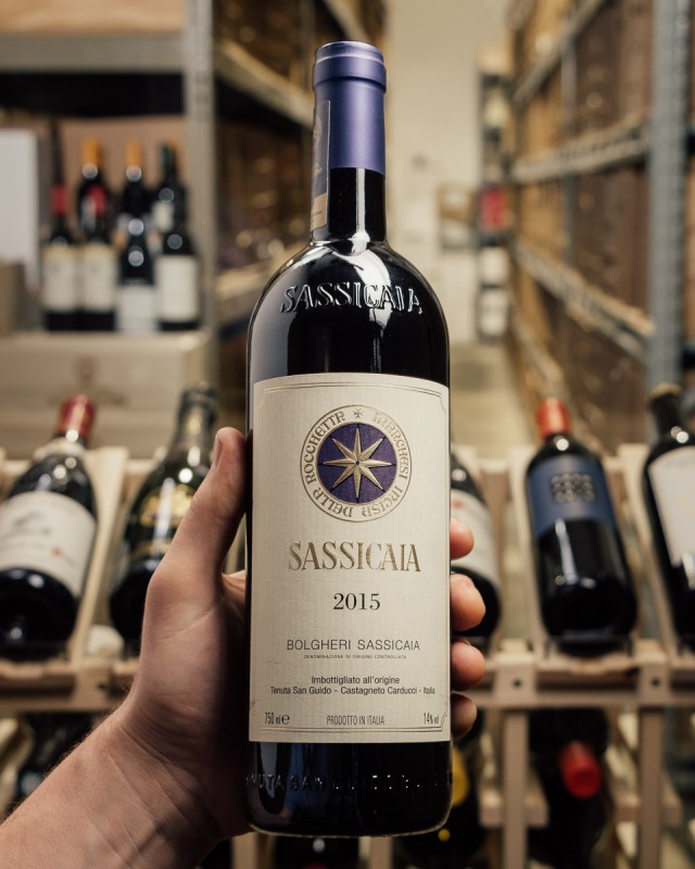 Tenuta San Guido Sassicaia 2015  - First Bottle