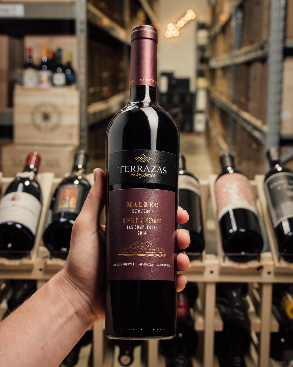 First Bottle Terrazas De Los Andes Malbec Los Compuertas