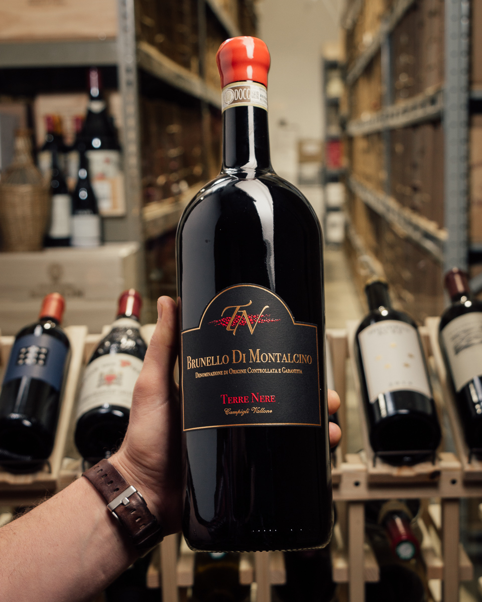 Terre Nere Brunello di Montalcino 2012 (Magnum 1.5L)  - First Bottle