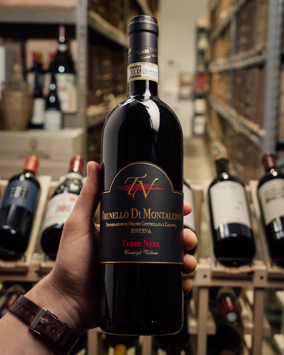 Terre Nere Brunello di Montalcino Riserva 2011  - First Bottle