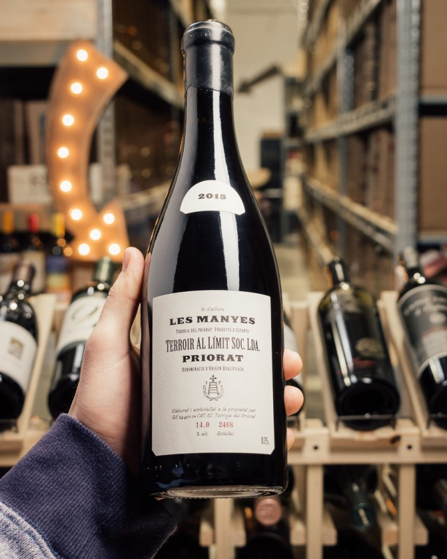 Terroir al Limit Les Manyes Priorat 2015  - First Bottle