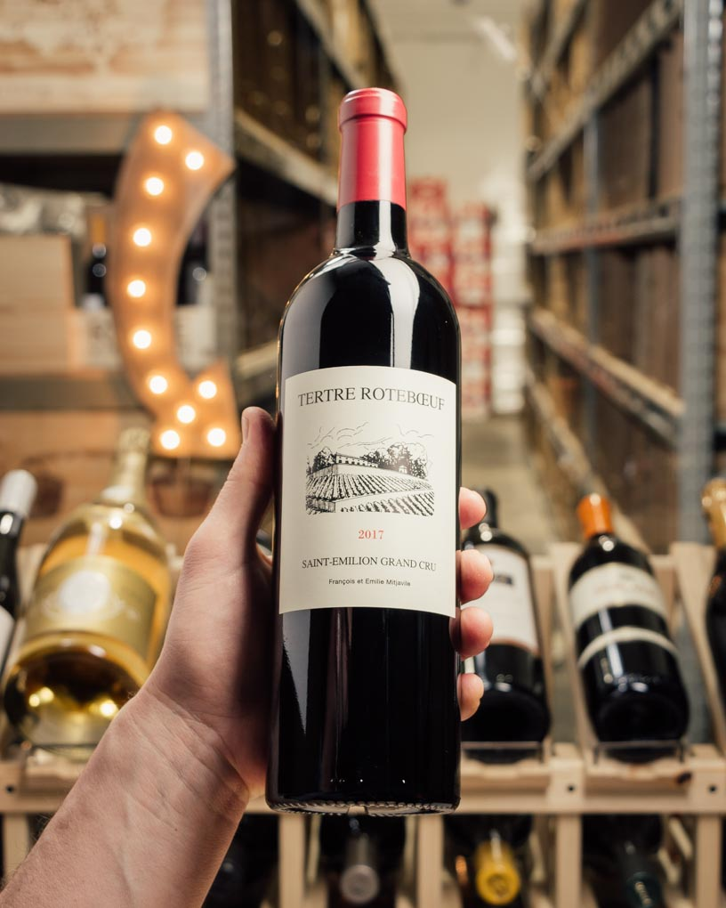 Tertre Roteboeuf Saint-Emilion Grand Cru 2017  - First Bottle