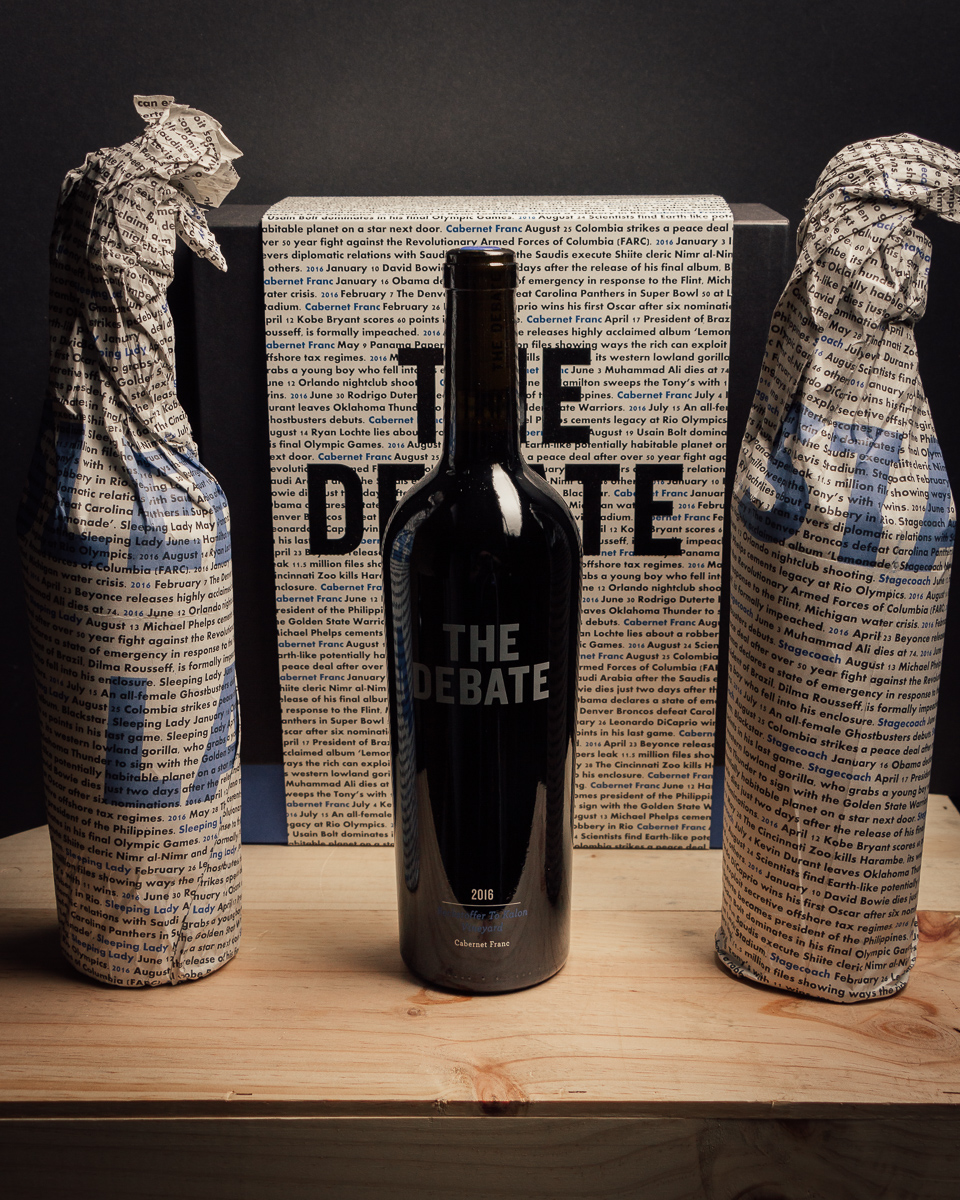 The Debate Cabernet Franc Three Pack 2016  - First Bottle