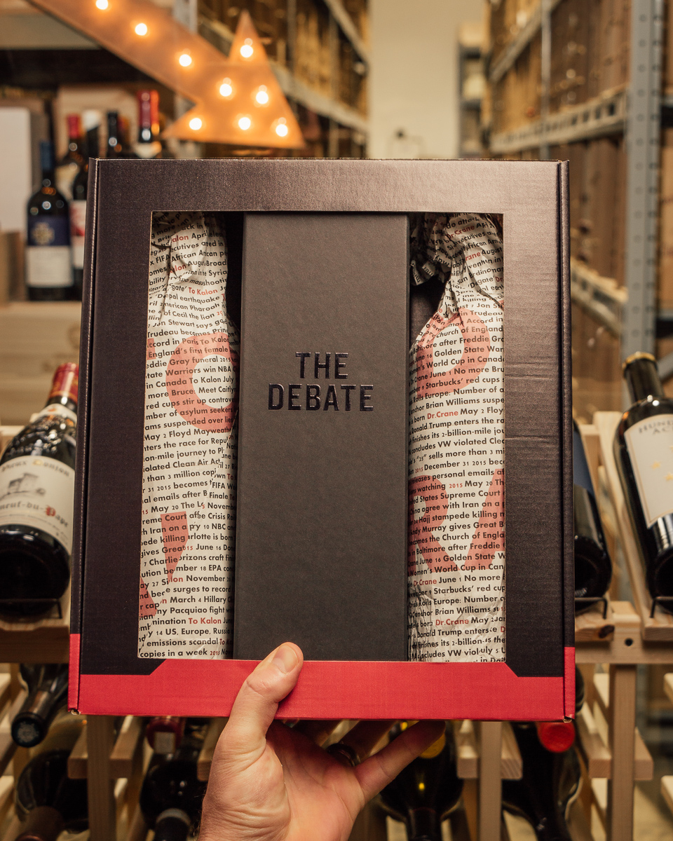 The Debate Cabernet Sauvignon Three Pack 2015  - First Bottle