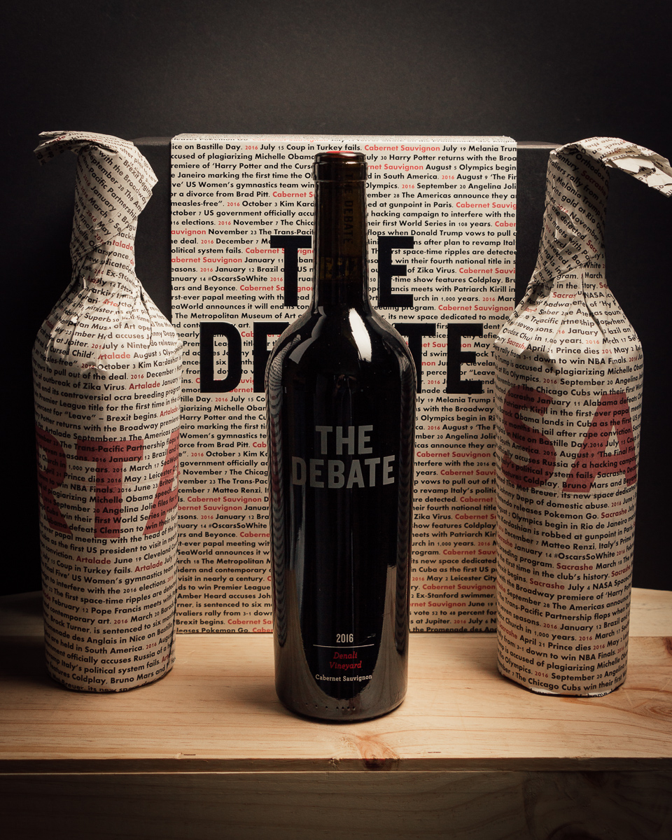 The Debate Cabernet Sauvignon Three Pack 2016  - First Bottle
