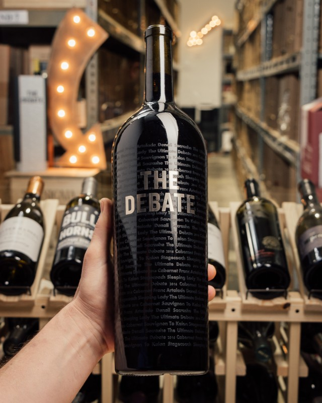 The Debate The Ultimate Debate (Magnum 1.5L)  - First Bottle