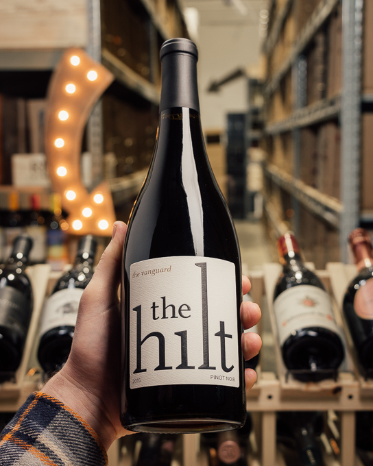 The Hilt Pinot Noir The Vanguard 2015  - First Bottle