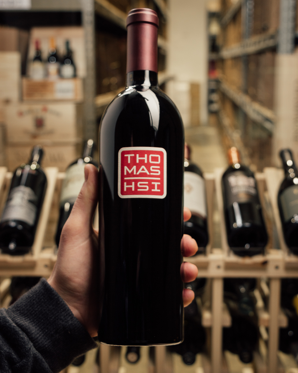 Thomas Hsi Proprietary Red THV Mt. Veeder 2012  - First Bottle