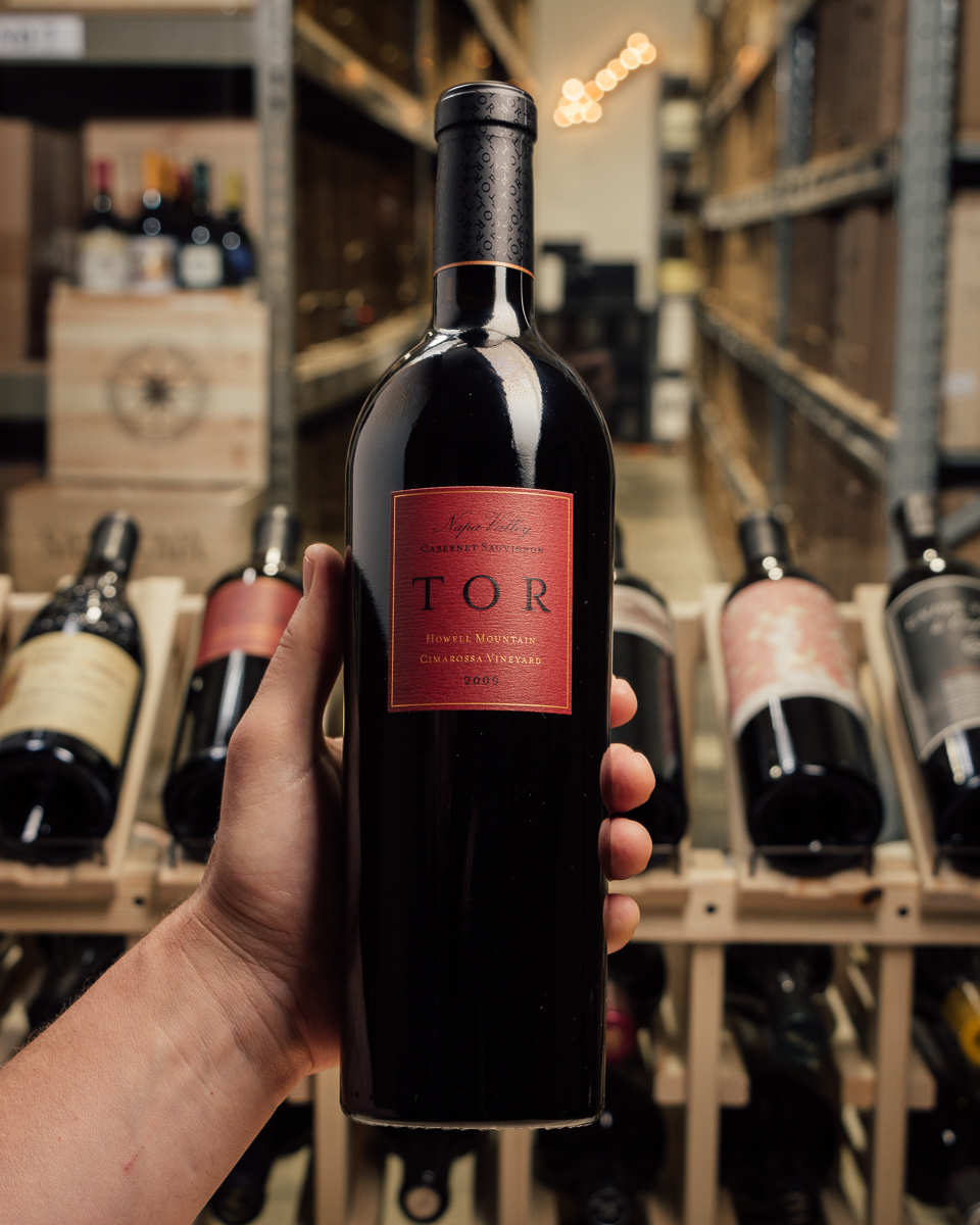 Tor Cabernet Sauvignon Cimarossa Vineyard 2009  - First Bottle