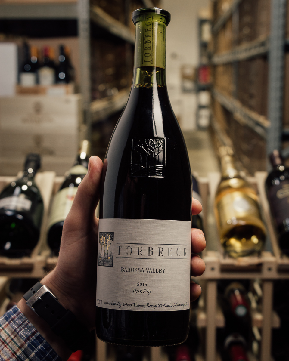 Torbreck RunRig 2015  - First Bottle