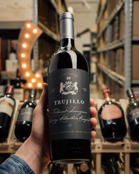 Trujillo Cabernet Sauvignon Henry Brothers Ranch Reserve 2016  - First Bottle