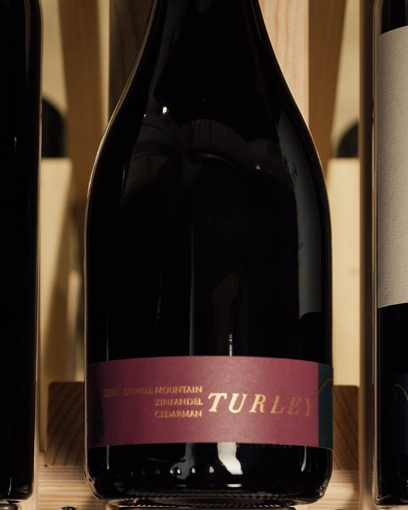 Turley Zinfandel Cedarman Howell Mountain 2018