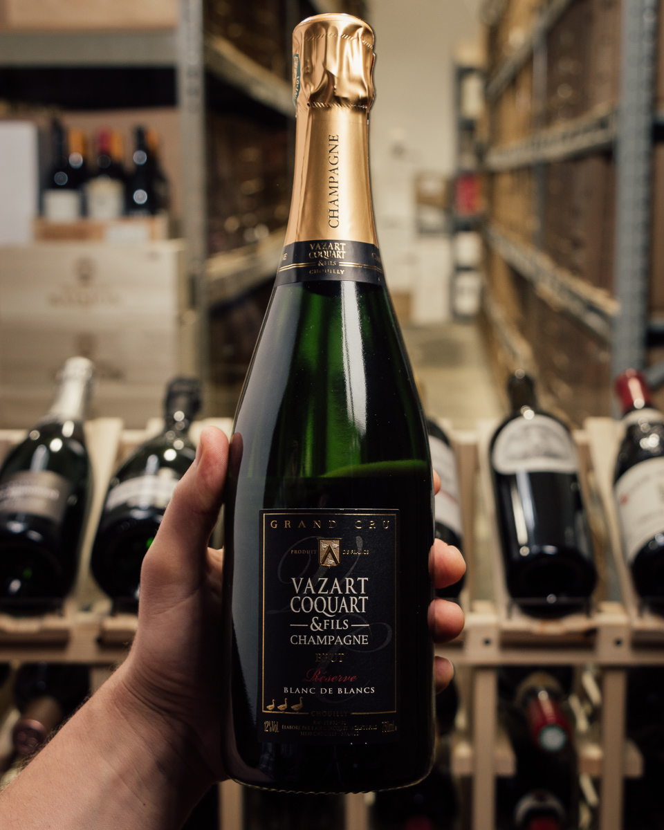 Vazart-Coquart Blanc de Blancs Brut Reserve Grand Cru NV  - First Bottle