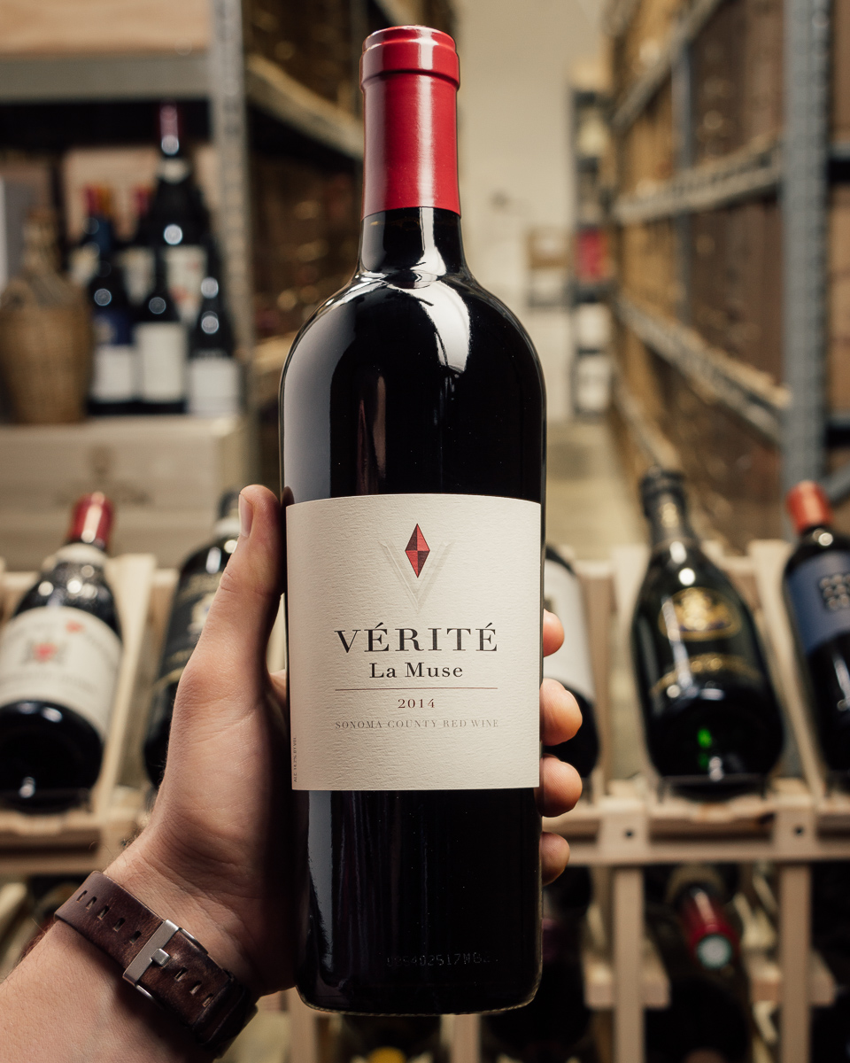 Verite La Muse 2014  - First Bottle