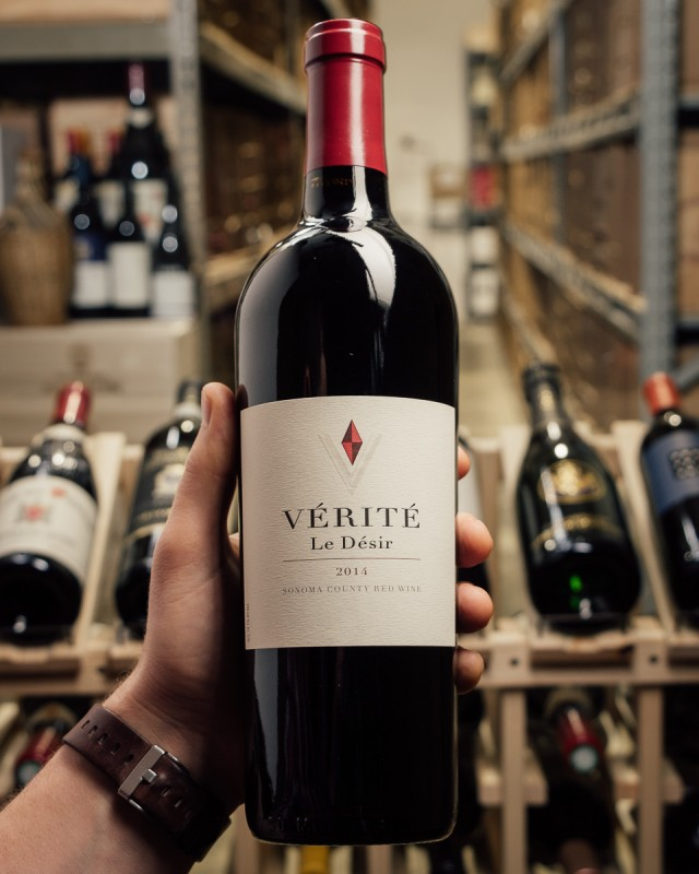 Verite Le Desir 2014  - First Bottle
