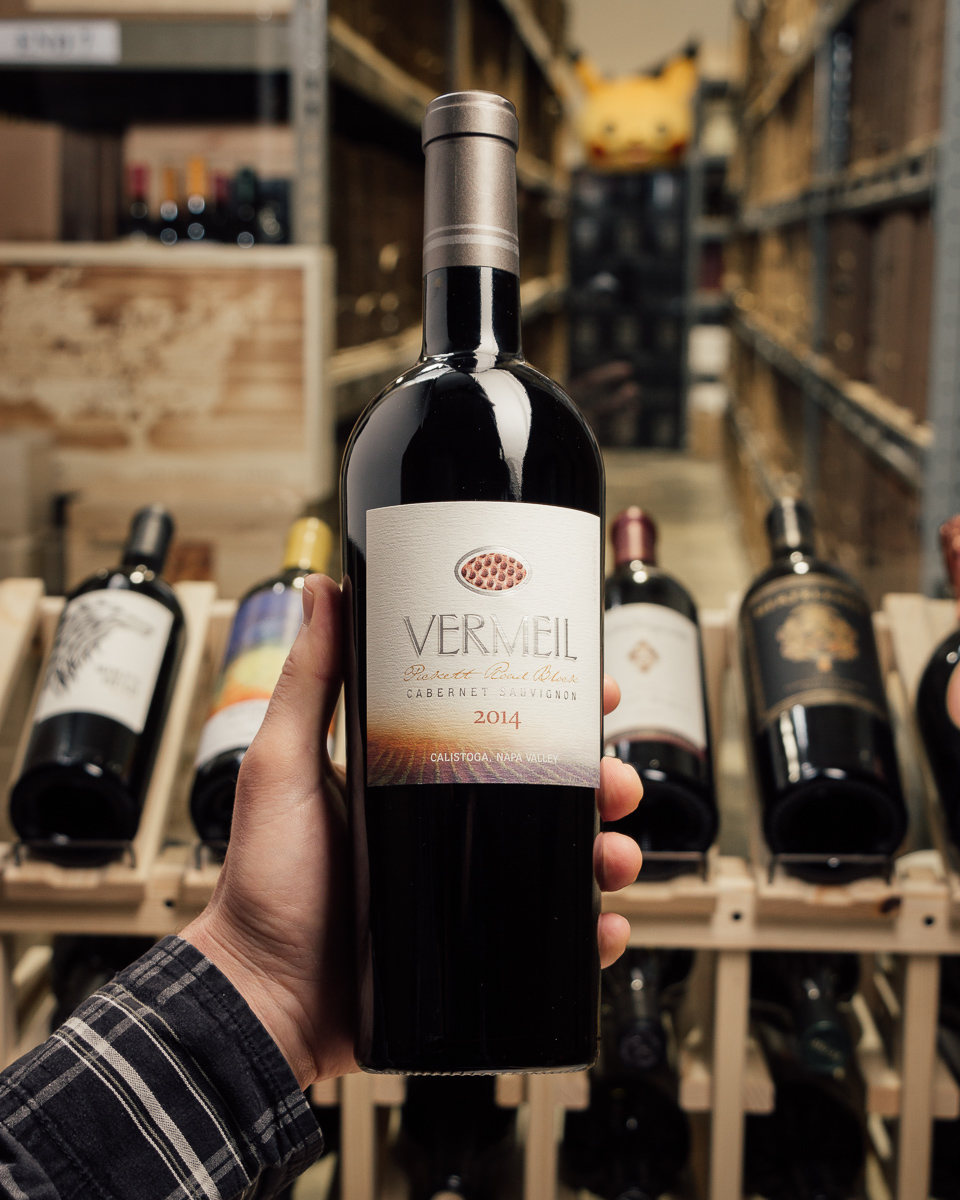 Vermeil Cabernet Sauvignon Pickett Road Frediani Vineyard 2014  - First Bottle