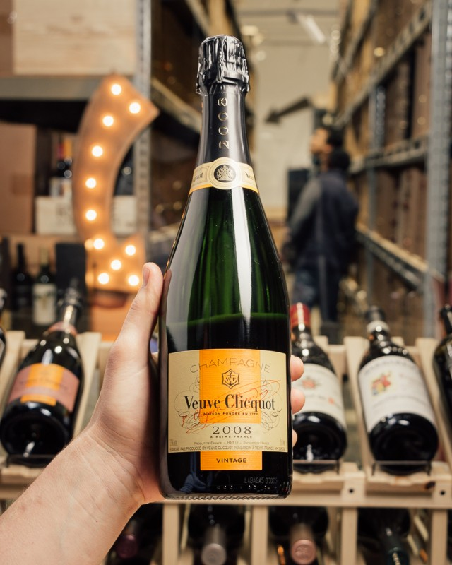 Veuve Clicquot Brut 2008  - First Bottle