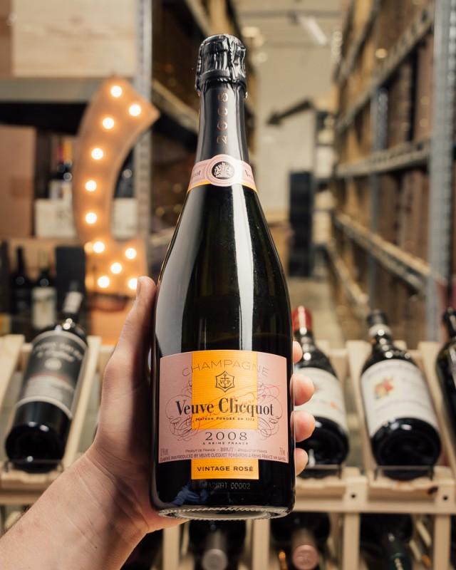 Veuve Clicquot Brut Rose 2008  - First Bottle