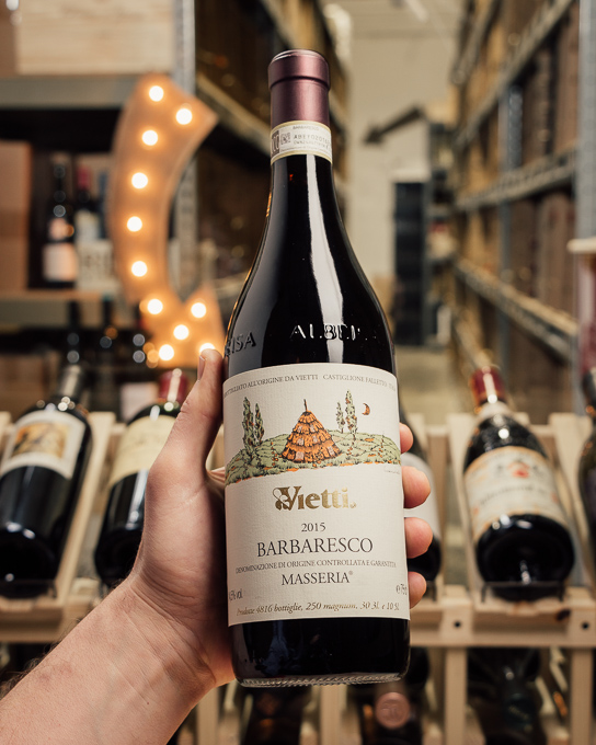 Vietti Barbaresco Masseria 2015  - First Bottle