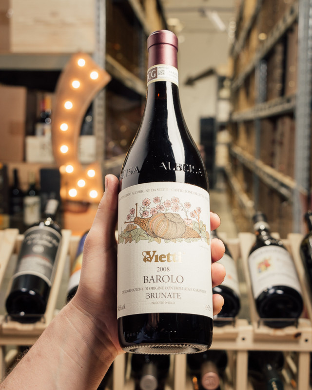 Vietti Barolo Brunate 2008  - First Bottle