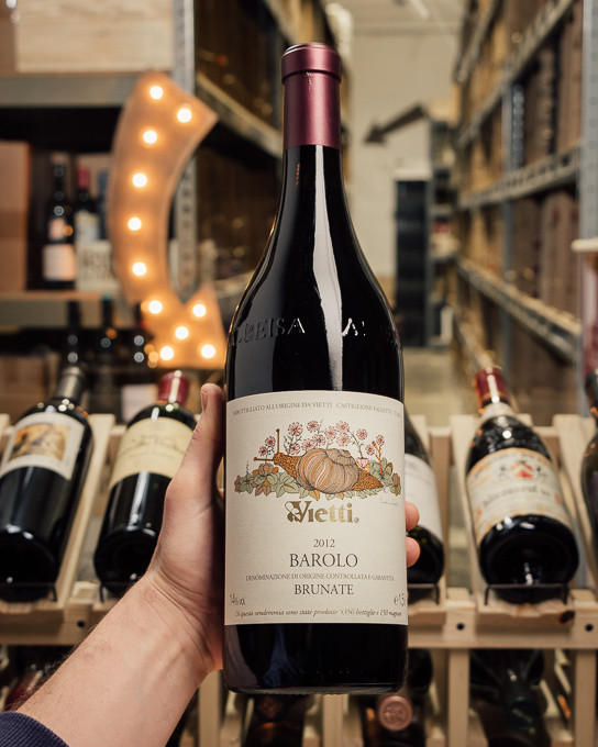 Vietti Barolo Brunate 2012 (Magnum 1.5L)  - First Bottle