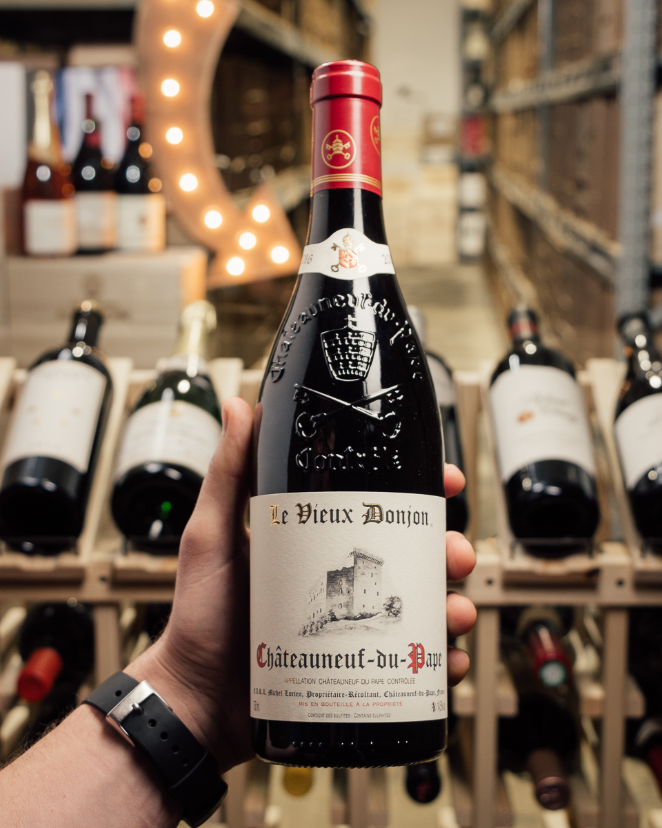 Vieux Donjon Chateauneuf du Pape 2016  - First Bottle