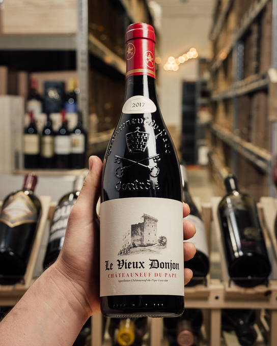 Vieux Donjon Chateauneuf du Pape 2017  - First Bottle